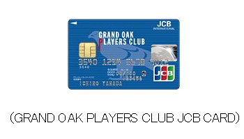 GRAND OAK PLAYERS CLUB JCB CARD