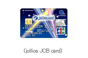 jollios JCB card