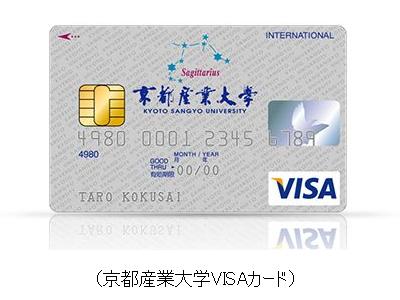 京都産業大学VISAカード
