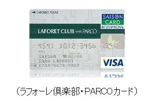ラフォーレ倶楽部・PARCOカード