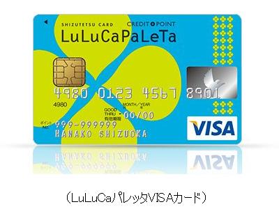 LuLuCaパレッタVISAカード