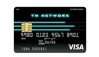 TM NETWORK VISA カード