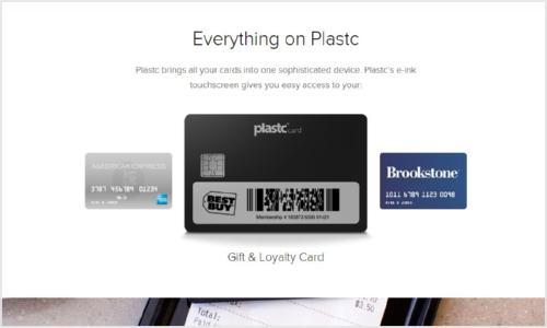 Plastcカード