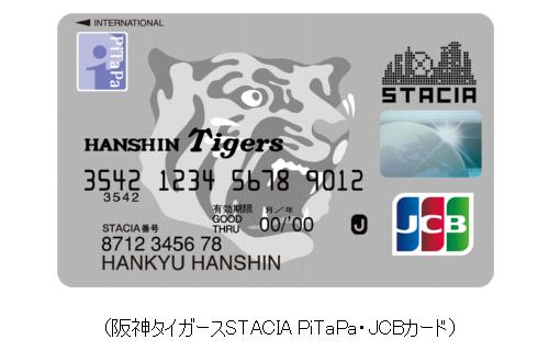 阪神タイガースSTACIA PiTaPa・JCBカード